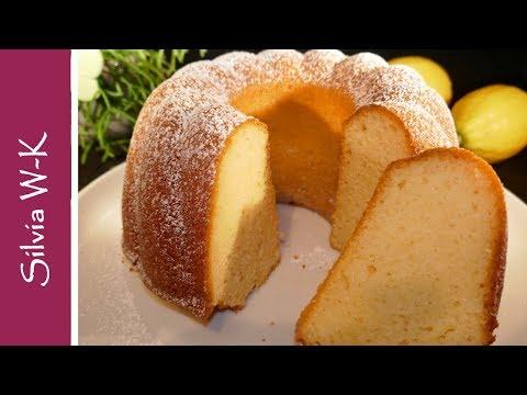 Zitronenkuchen / mit Joghurt / gelingsicher / sehr locker