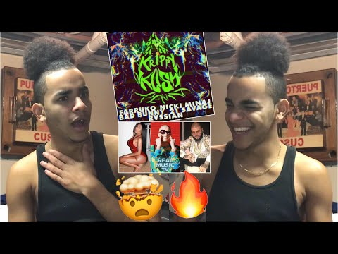 Farruko, Nicki Minaj, Bad Bunny - Krippy Kush (Remix) ft. 21 Savage, Rvssian |REACTION| mp3
