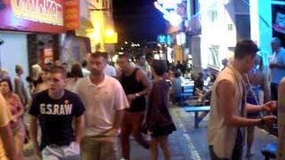preview picture of video 'la noche en San Antonio de Portmany (Ibiza)'