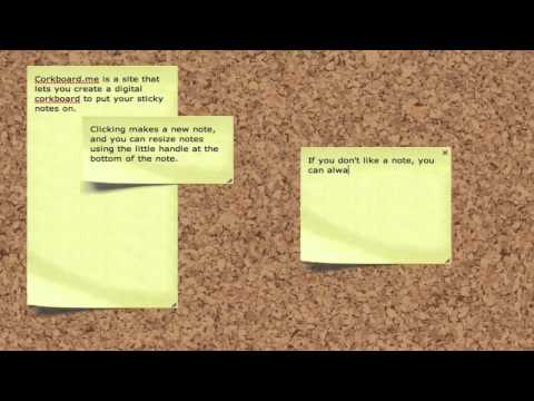 Corkboard.me Is A Simple, Shareable Sticky Notes Web App