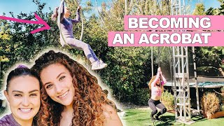Learning the Ariel Hoop from Sofie Dossi!