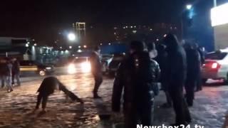 Во Владивостоке посетители известного ресторанчика устроили массовую драку (Видео)