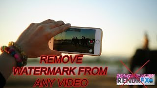How To Remove Watermark from Video - 2 Easiest Way by Using Camtasia Studio 9