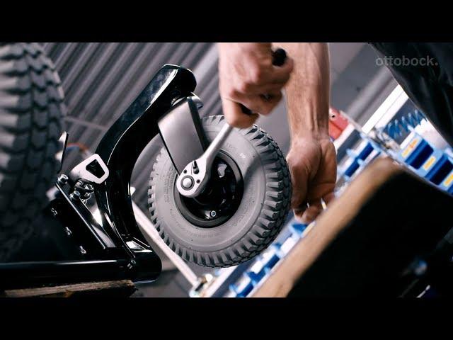 Ottobock A200 Power Electric Wheelchair Video