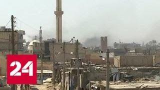 Армия Сирии зачищает окрестности Дейр-эз-Зора от террористов - Россия 24