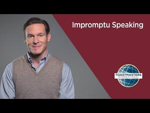 Impromptu Speaking