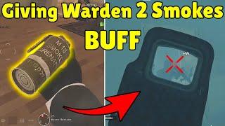 Giving Warden 2 Smokes BUFF Will Make Him PERFECT ( Concept )   Pro Hiding Spot - Rainbow Six Siege