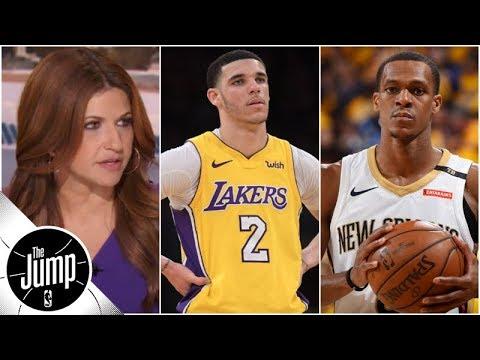 Lakers starting PG debate: Lonzo Ball or Rajon Rondo? | The Jump | ESPN