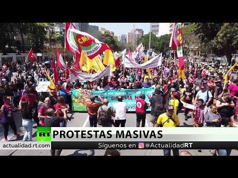 Brasil: Protestas masivas contra las políticas de Jair Bolsonaro en el Día de la Independencia