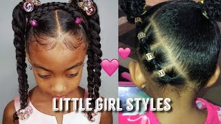 ADORABLE LITTLE GIRLS + TODDLER HAIRSTYLES | BLACK LITTLE GIRLS | NATURAL HAIR