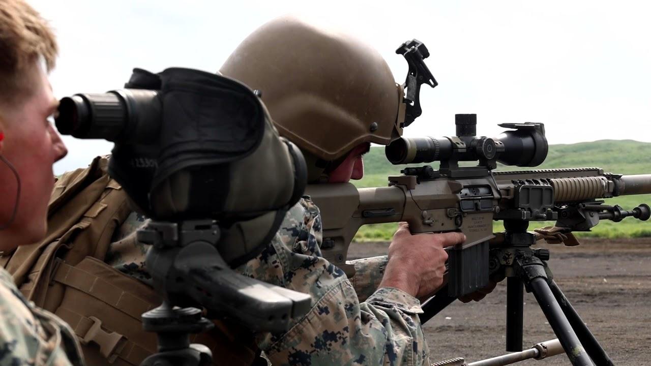 US Military News • U.S Marines Sniper and .50-Cal Machine Gun Range • Camp Fuji, Japan, June 23 2021