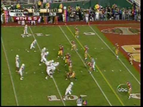 Invincible! Vince Young, 4th-and-5, 2006 Rose Bowl, Texas vs. USC