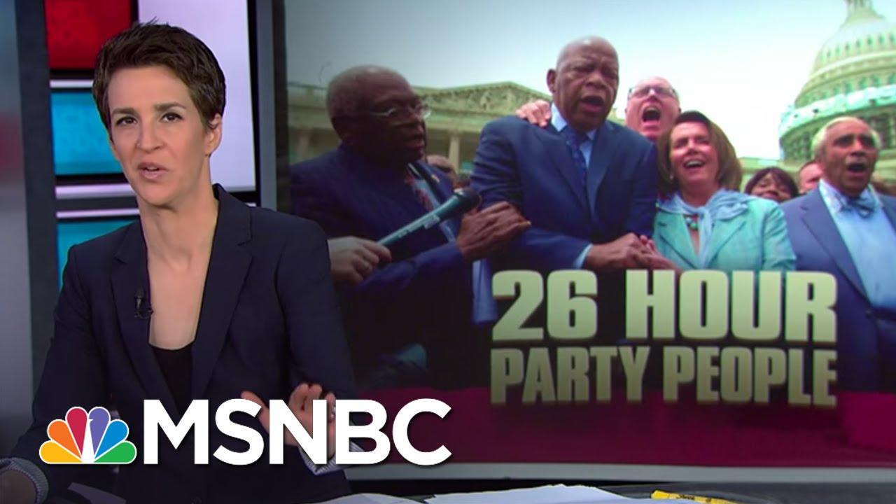 House Democrats Electrify Gun Debate | Rachel Maddow | MSNBC thumbnail