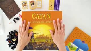 CATAN - Unboxing - Die Legende der Eroberer
