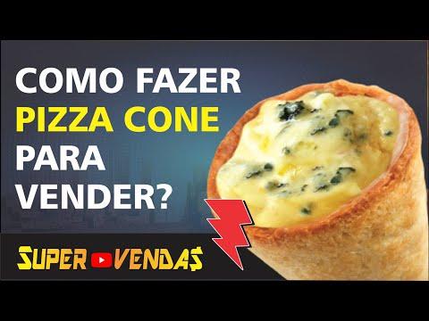 [PIZZA CONE] Receita  - Seu negócio próprio como fazer Pizza cone