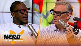 Frank Clark talks Super Bowl LIV, playing with Mahomes, Russell Wilson and more   NFL   THE HERD
