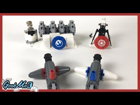 Vidéo LEGO Star Wars 75239 : Action Battle L'attaque du générateur de Hoth