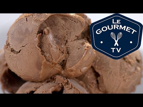 Video Double Chocolate Ice Cream Recipe - LeGourmetTV