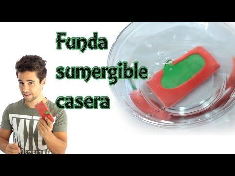 Cómo hacer una funda sumergible para el celular o móvil (Experimentos Caseros)