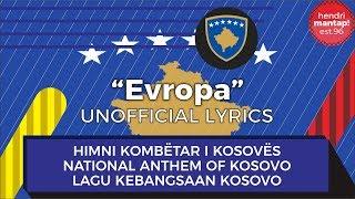 #41: Indonesian sings Evropa, National Anthem of Kosovo
