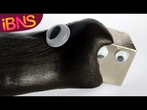 Fun with Monster Magnets (How to make magnetic slime)