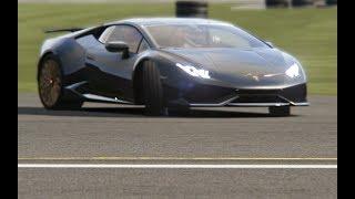 Lamborghini Huracan Performante Edition at Top Gear Testing