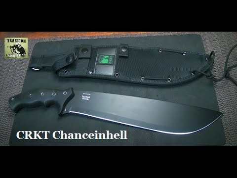 CRKT Chanceinhell Survival Machete