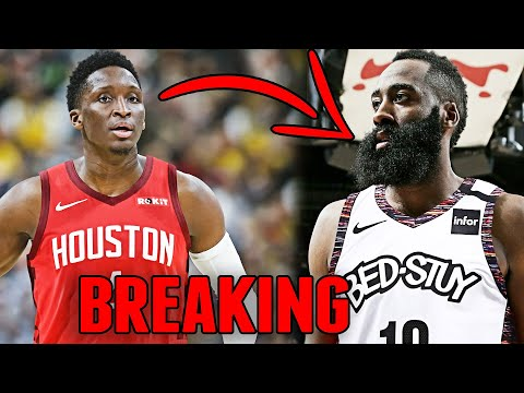 HOUSTON ROCKETS TRADE JAMES HARDEN TO THE BROOKLYN NETS! RECEIVE VICTOR OLADIPO FROM INDIANA PACERS!