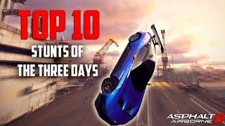 Asphalt 8 | TOP 10 Stunts Of The Three Days #42