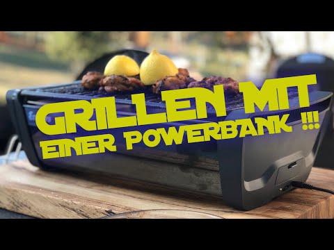GRILLEN mit einer POWERBANK - ENDERS AURORA im Test --- Klaus grillt