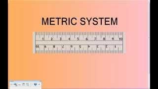 metric system tutorial