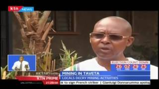 Taita Taveta county residents yet to realize any benefits from minerals in the county