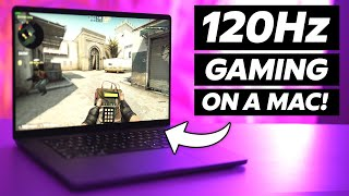 120Hz GAMING on the NEW M1 Pro MacBooks! (CS:GO and Fortnite)