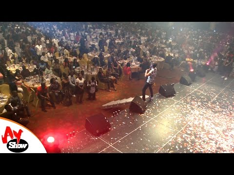 AY LIVE: See what Wizkid's did in a show