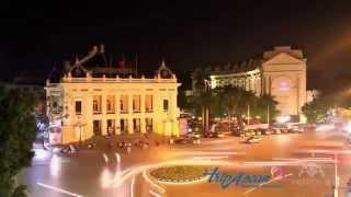 preview picture of video 'Hanoi in one munitue (Ha Noi, Vietnam)'