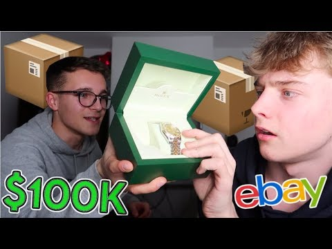 I Bought A $100,000 Mystery Box From eBay