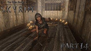 Skyrim - The Elder Scrolls 5: Путешествие в Рифтен, Майк нас преследует! - летсплей (часть14)