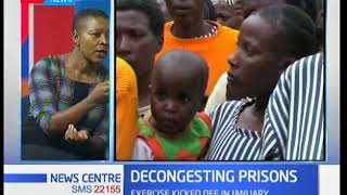 News Centre - 19th February 2018: Discussion on Decongesting of prisons