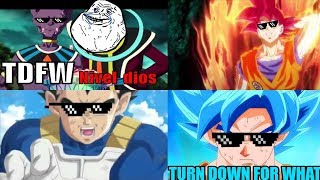 TOP 5 MEJORES TURN DOWN FOR WHAT - DRAGON BALL PARTE 1