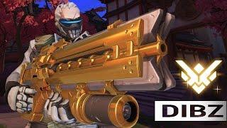 Overwatch: MY NEXT GOLDEN GUN! Soldier Cleanin