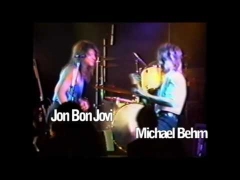 Bon Jovi with Michael Behm/Frenzy 1988