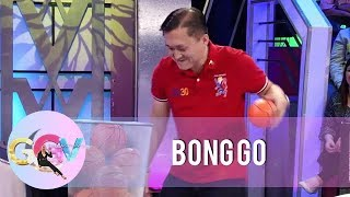 GGV: Bong Go shows off his basketball skills