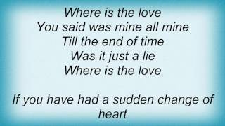 Roberta Flack - Where Is The Love Lyrics