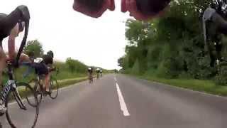 preview picture of video 'Cotswold 113 Triathlon 2014 Bike Leg'