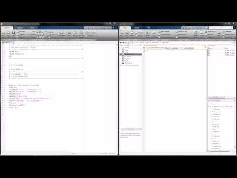 MATLAB Tutorial 4 – A Look at Creating and Calling Functions!