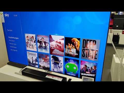 Sky Q App auf Samsung TV