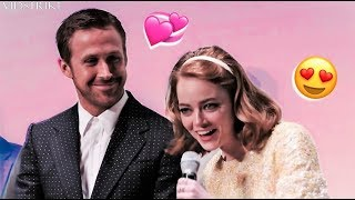 Emma Stone Can't Stop Flirting with Ryan Gosling