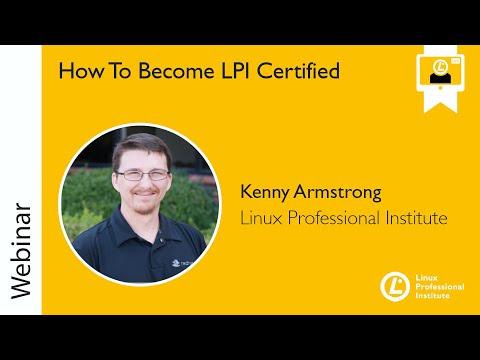 LPIC-1 Preparation Webinar with Kenny Armstrong, June 18, 2019 ...
