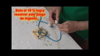 Juego de Ingenio Facil de Hacer, Pero no de Resolver / Ingenuity Game Easy to Do, But Not to Solve