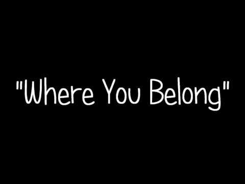 Where You Belong (Song) by Kari Kimmel